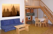 Newly renovated Prague apartments situated right in the center of Prague. All very spacious with bathtubs in the private bathroom, fully furnished kitchen with refrigerator and dishwasher, satelite TV