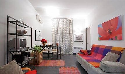 Apartment located in the