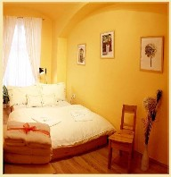 The history of the building goes back to 19th century. This  one-bedroom serviced apartment is 37 sq.m ,  and can sleep 4 people maximum.  The apartment has 1 bathroom. The minimum length of stay for