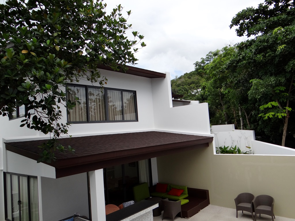 This stunning two-storey, modern contemporary villa with three bedrooms, three bathrooms, (sleeps six maximum), private plunge pool and outdoor living area, is Ideal for large families and friends to
