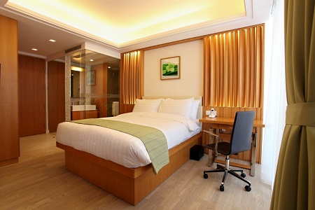 Gardeneast Serviced Apartments Situated At The Heart Of Wanchai In Hong Kong Represents An Oasis