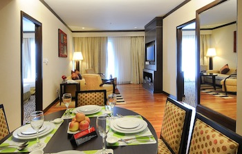 2 Bedroom Deluxe Suite 2-Bedroom Apartment 110 Sq.m. MiCasa All Suite Hotel