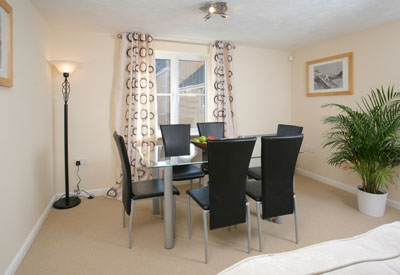 Quality development of one and two bedroom serviced apartments. Each of them individually decorated, with a lounge and dining area, a fully-equipped kitchen, offering the comfort of a hotel, with the