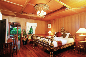 There are five types of accommodation available at the hotel, comprising of Superior, Thai Villa, Poolside Villa, Junior Suite and Executive Suite. Total number of rooms is 44. This  one-bedroom servi