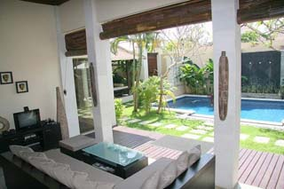 Our villa is set on approx. 300 Sq.m of land, approx. 200 Sq.m is set for building, This villa is conveniently located on the most chic area of Seminyak within walking distance to Ku De Ta restaurant.